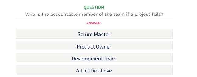 Professional Scrum Developer Certification Practice